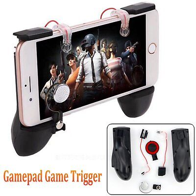 Mobile Game Trigger Fire Button Handle Grip Gamepad L1R1 Shooter Controller PUBG