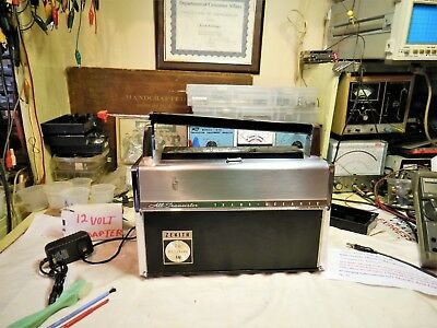 Zenith Trans=Oceanic 1964,R-3000-1,From Nuvista 48,With New Rechargeable Batt+++