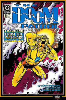 Doom Patrol #19 (1989) Key 1St Crazy Jane Tv Show Soon Grant Morrison Dc 8.0 Vf