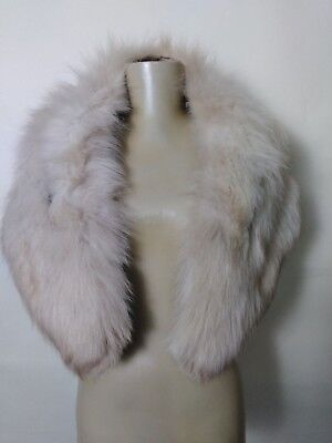 Vintage Genuine Fox Fur Stole Wrap Scarf Womens One Size