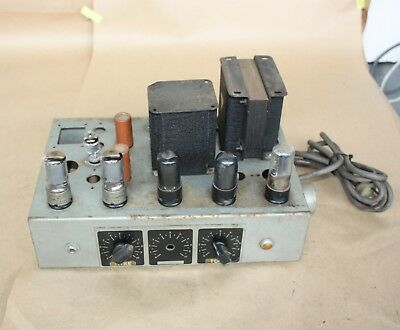 Vacuum Tube Trimax Transformer VALVE AMPLIFIER Equipment VINTAGE Collectors