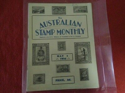 The Australian Stamp Monthly Magazine May 1, 1934