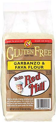 Bob's Red Mill Garbanzo Fava Flour, Gluten Free, 22 Ounce