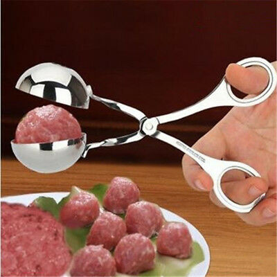 Fish Meat Ball Maker Stainless Steel DIY Meatball Mold Kitchen Tools Gadget