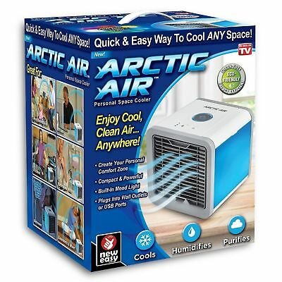 Quick Cool Arctic Air Personal Air Cooler Humidifier Porable Fans Home Office AU