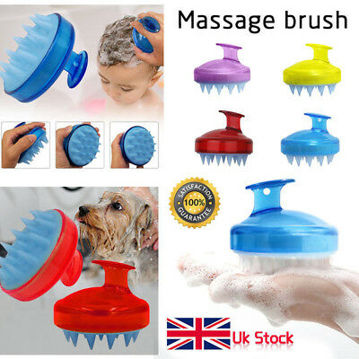 SILISCRUB - The Original Silicone Shampoo Brush 4 Colors UK Stock