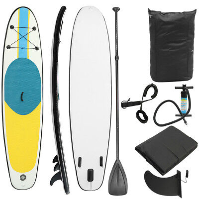 NEW Costway 10' Inflatable Stand Up Paddle Board SUP Kayak Surf Board Bag AU