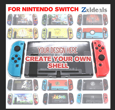 Protection Shell Hard Thin Dockable Case for Nintendo Switch Cover Pokemon Zelda