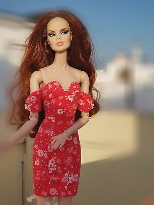 Fashion Royalty Fr2 Nu Face Kyori Ayumi Outfit Dress 12 Inch Dolls