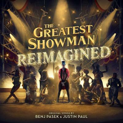 THE GREATEST SHOWMAN : REIMAGINED (Various Artists) CD (2018)