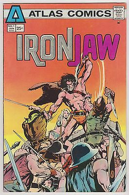 Iron Jaw #1, Very Fine Condition