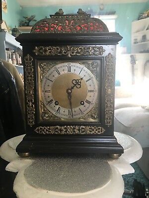 Beautiful proportioned chiming bracket clock
