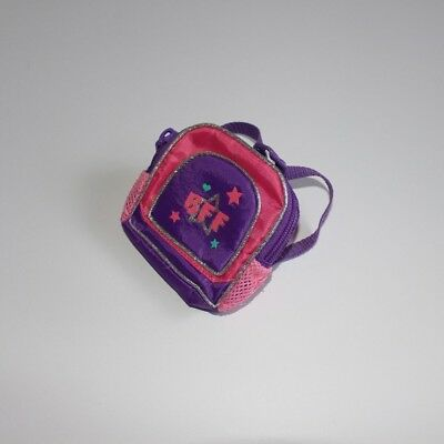 """Build A Bear- Pink and Purple, BFF Backpack """"Like new"""""""