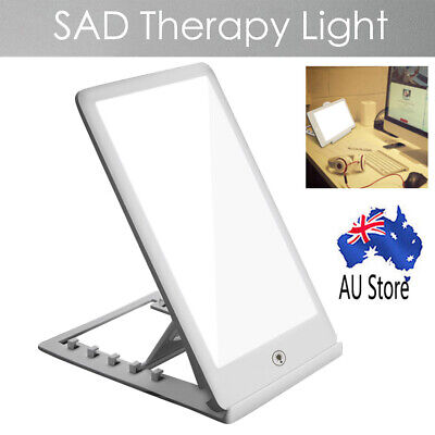 1*SAD Therapy Light LightBox Seasonal Affective Disorder Phototherapy Lamp 6500K
