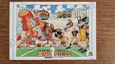 One Piece 20th Anniversary Baseball Special Illustration Not For Sale RARE