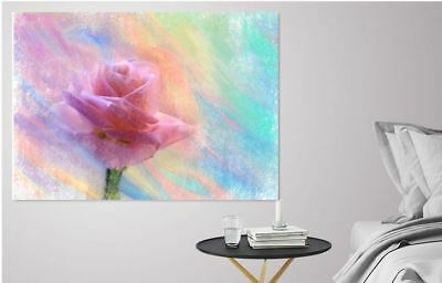 ARTISTIC WATERCOLOR FLOWER SCENERY high quality wall Canvas wall art home decor
