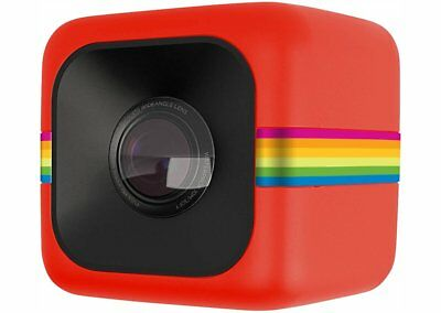 Polaroid POLC3BK Cube Wi-Fi HD Digital Video Action Camera Red Japan F/S