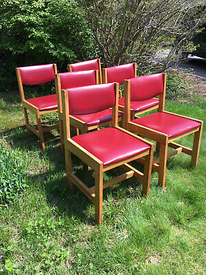 Mid-Century Modern Dining Room Chairs *Set of 6*