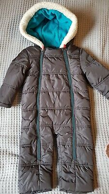 Baby Jumpsuit Snowsuit Size 9-12 months by Ted Baker
