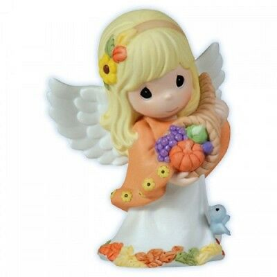 Precious Moments The Generosity of His Promise 113093 Fall Angel Figurine HTF