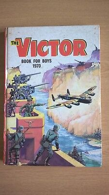 The Victor Book For Boys 1970 - Operation Archery, Braddock V.c., Unclipped.