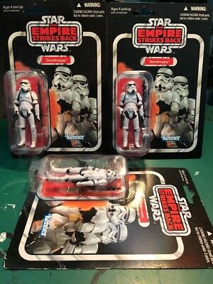 Star Wars Stormtrooper Lot x3 - Vintage Collection VC41