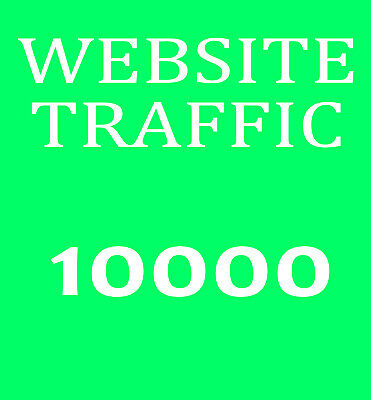 10000 Besucher-Traffic - Bewerbung ihrer Website - Marketing und Promotion Top