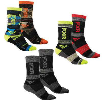 FXR Turbo Athletic Sock Authentic Extra Heel Pad 10in From Heel MX Snowmobile
