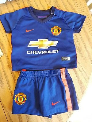Baby Manchester United Kit 3-6 Months