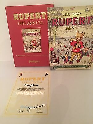 Rupert The Bear 1951 Annual - Limited Edition Reproduction With Certificate