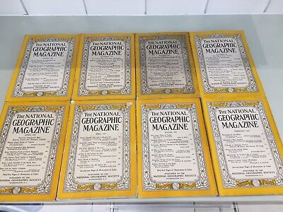 National Geographic 1950s Job Lot