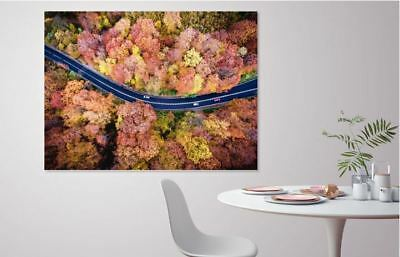 BEAUTIFUL ROADS TRAVELS  high quality wall Canvas wall art home decor