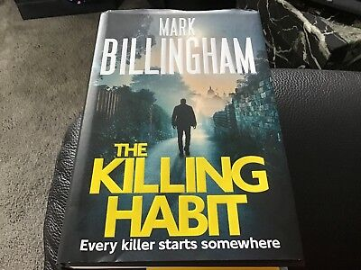 The Killing Habit By Mark Billingham Hardback Book