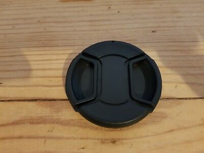 58mm Centre Pinch Lens Cap Fits All 58mm Threaded Lenses