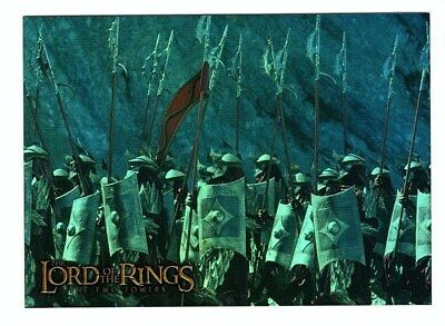 Topps Lord of the Rings Prismatic Foil THE TWO TOWERS Card #2