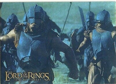 Topps Lord of the Rings Prismatic Foil THE TWO TOWERS Card #7