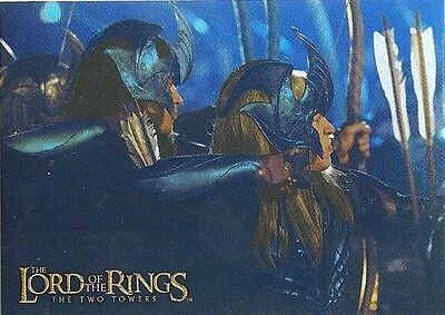 Topps Lord of the Rings Prismatic Foil THE TWO TOWERS Card #5