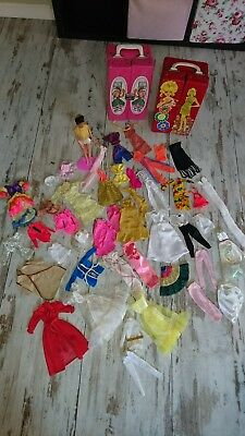 Barbie Disco European Mit 70er Fashion Und Koffer Vintage