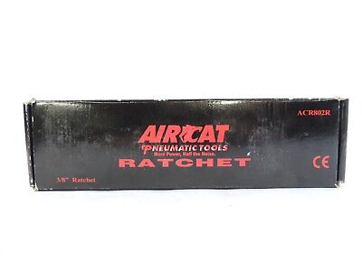 """Aircat 802 3/8"""" Composite Twin PAWL Ratchet 280RPM Red"""