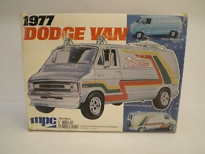 1977 Dodge van by MPC built very clean! with box, spare parts & decals