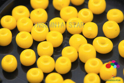 New 4mm 180 Pcs Round Solid color Glass Czech Loose seed Spacer Beads A-77