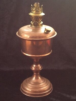 Oil Lamp Base.copper.