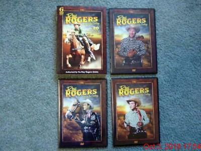 Roy Rogers, King of the Cowboys (6) DVD Set, (20) Movies + Bonus Features