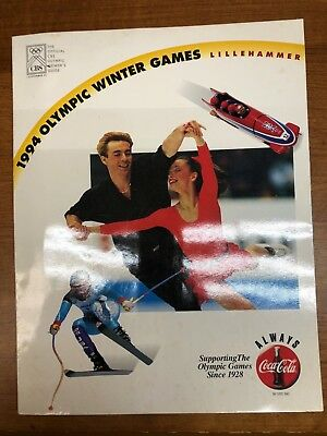 Coca Cola  1994 OLYMPIC WINTER GAMES BOOKLET - LILLEHAMMER