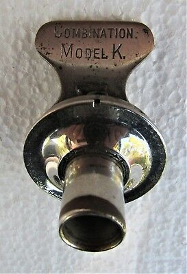 Edison Model K 2/4 Minute Combination Phonograph Reproducer for Cylinder Records