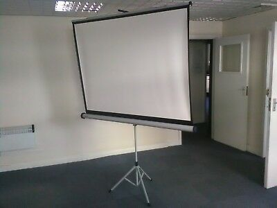 NOBO tripod screen for projector