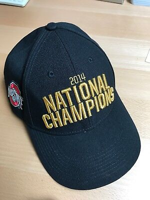 best service ab7ea a947c ... usa 2014 ohio state buckeyes football undisputed national champions  gold nike hat 5a19d df8b8