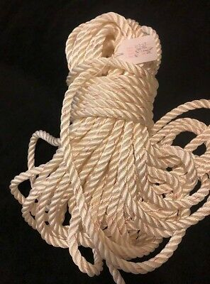 """New England Marine Boat Rope 3 strand 9/16"""" 146 FT Fast Shipping"""