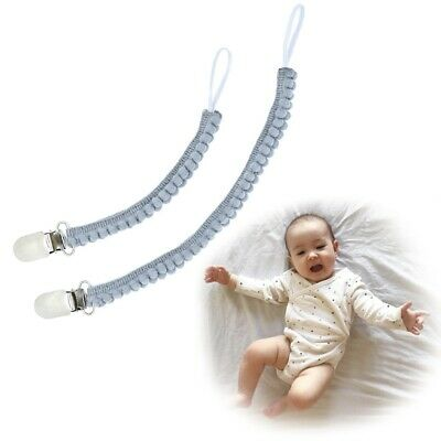 Baby Pacifier Chain Strap Dummy Nipple Holder Clip Newborn Soother Playing Toys