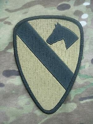US ARMY 1st Cavalry Division OCP Multicam Klett Uniform patch